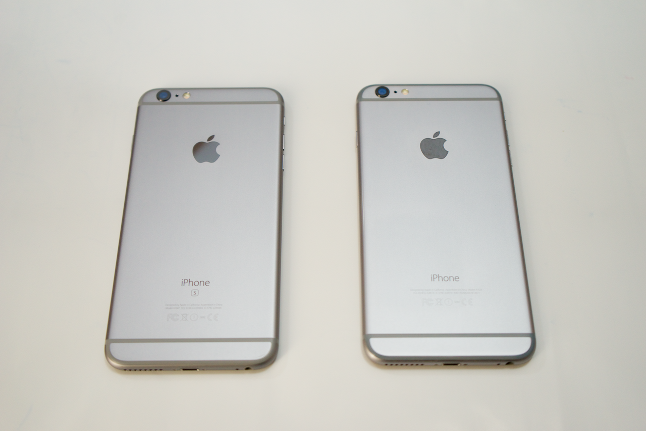 iPhone 6s Plus vs iPhone 6 Plus